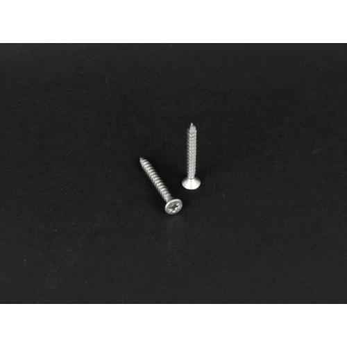 Rozsdamentes süllyesztettfejű kereszthornyú forgácslapcsavar  (9050, 5x, 25mm, A2)