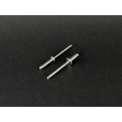 Din 7337 Popszegecs nyitott rozsdamentes (DIN7337, A2, 4,8x, 8mm)