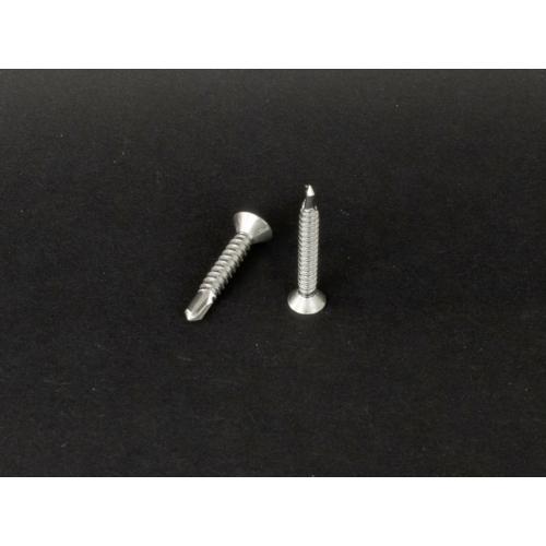 Rozsdamentes süllyesztettfejű kereszthornyú önfúró lemezcsavar  (DIN7504/O, 3,5x, 16mm, A2)