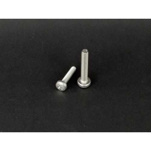 Rozsdamentes D-fejű kereszthornyú csavar  (DIN7985, M5x, 12mm, A2)