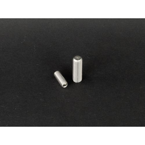 DIN 913 Lapos végű belsőkulcsnyílású hernyócsavar rozsdamentes (DIN913, M5x, 8mm, A2)