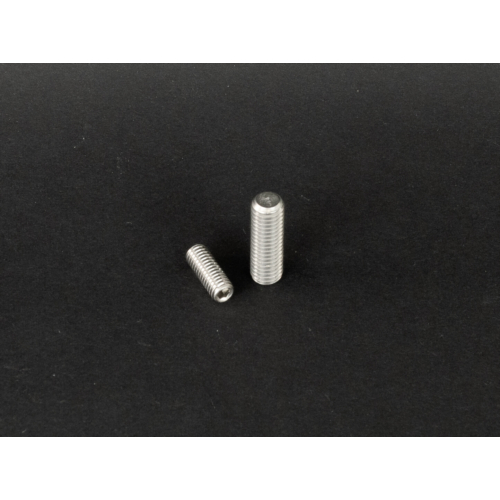 DIN 913 Lapos végű belsőkulcsnyílású hernyócsavar rozsdamentes (DIN913, M8x, 16mm, A2)