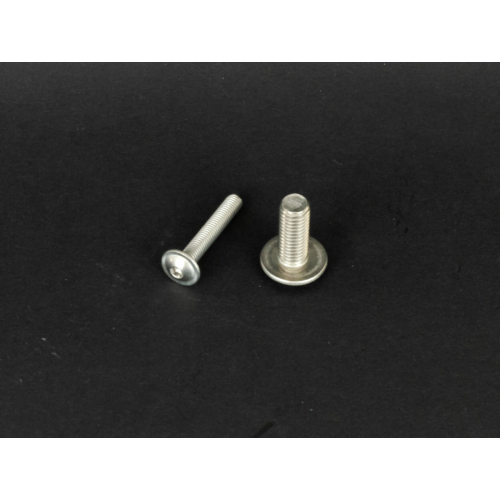 Rozsdamentes félgömbfejű peremes belsőkulcsnyílású csavar  (9084, M8x, 25mm, A2)