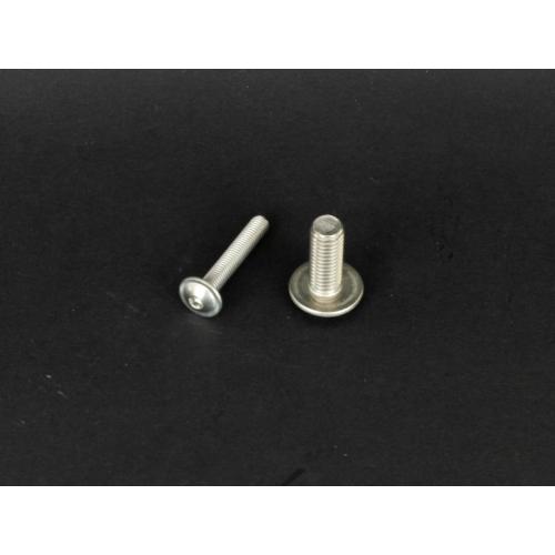 Rozsdamentes félgömbfejű peremes belsőkulcsnyílású csavar  (9084, M4x, 16mm, A2)